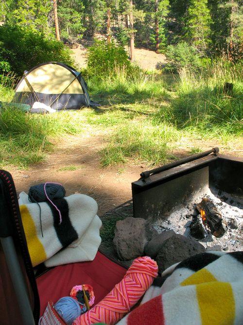 crochet campfire